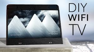 Build your own <b>portable SMART</b> TV (100% <b>wireless</b>!) - YouTube