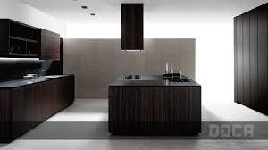 kitchen island integrated handles arthena varenna: doca angon mocca wood veneer kitchen with island