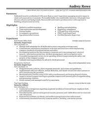 security supervisor resume getessay biz security supervisor examples law enforcement security for security supervisor