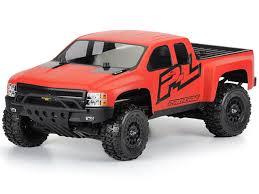 <b>Pro-Line</b> Racing <b>Chevy Silverado</b> HD Clear Body: Slash & 4x4 ...