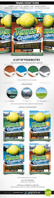 tennis flyer template by oblik graphicriver tennis flyer template sports events