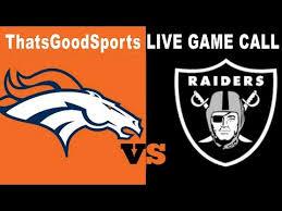 Broncos vs Raiders Live Stream - YouTube