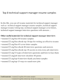 toptechnicalsupportmanagerresumesamples conversion gate thumbnail jpg cb