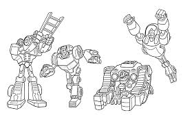 Small Picture All Rescue bots coloring pages for kids printable free