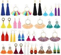 Tassel Earrings for Women - Amazon.co.uk