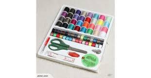 <b>100pcs</b> Portable <b>Sewing</b> Kit Threader Needle Tape Measure Scissor ...
