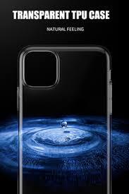 10pcs/lot Transparent Soft TPU Case For Apple iPhone 11 Pro Max ...