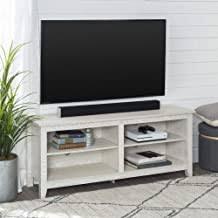 White Wood TV Stand - Amazon.com