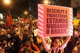 Resultado de imagem para protestos no brasil fotos
