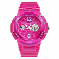 @! <b>SMAEL Women</b> Fashion Alarm Digital Dual Analog Chrono... in ...