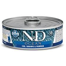 <b>FARMINA N&D</b> OCEAN <b>консервы</b> беззерновые для Котят треска ...