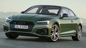 <b>2020</b> Audi A5 Debuts Subtle Facelift, <b>S5</b> Gets Diesel In Europe