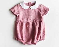 <b>Baby</b> Linen Romper, <b>Baby</b> Romper, Toddler Romper, Linen Jumper ...
