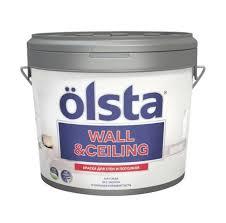 """<b>OLSTA</b> """"<b>WALL & CEILING</b>"""" <b>Краска</b> для стен и потолков матовый ..."""