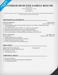 interior designer sample resume resumecompanioncom resume samples across all industries pinterest interiors resume and uxui designer interior designer resume objective
