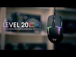<b>Thermaltake</b> Gaming - <b>Level 20 RGB</b> Gaming Mouse - Product First ...