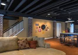 basement ceiling ideas basement ceiling lighting ideas