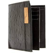 <b>New Genuine Leather Mens</b> Bifold Wallet With 2 ID Windows RFID ...
