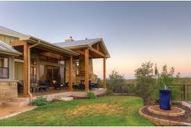 Hill Country Fusion HWBDO Ranch from BuilderHousePlans com