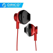 <b>ORICO Earphone Earbuds</b> Bass <b>In-Ear Wired Headphone</b> With Mic ...
