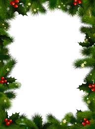 christmas borders you can and print a christmas border evergreen and berries