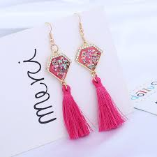 <b>2019</b> Amazon Hot <b>Sale Tassel Earrings 2019</b> Wholesale Custom ...