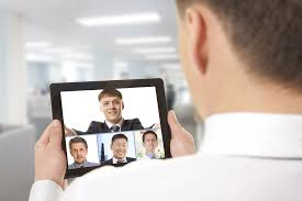 hire better by asking better video interview questions video conference