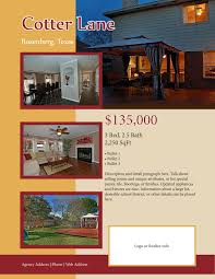 real estate listing flyers the kapeesh team real estate listing flyers