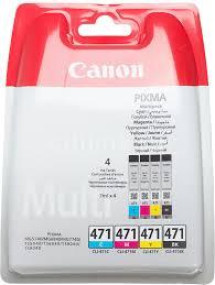 Купить <b>Картридж CANON CLI-471C</b>/M/Y/Bk, многоцветный в ...