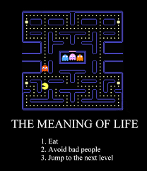 The meaning of life  According to Pacman    Humor Hub Humor Hub