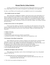 college student resumes getessay biz college student by docstalk college student resumecompanion resume