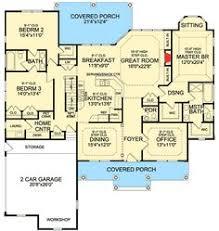images about Dream House on Pinterest   Floor plans  House    Plan JA  Rustic Split Bedroom House Plan