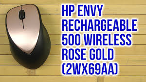 Распаковка <b>HP ENVY Rechargeable 500</b> Wireless Rose Gold ...