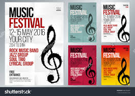 music event design suitable poster promotional stock vector suitable for poster promotional flyer invitation banner or magazine