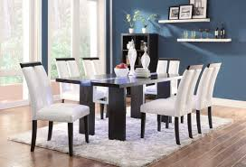 black dining chairs set coaster