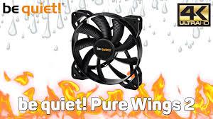 Обзор <b>вентиляторов be quiet</b>! <b>Pure</b> Wings 2 140mm - YouTube