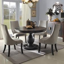 Solid Wood Dining Room Tables And Chairs Dining Room Classic White Upholstered Chair Design Upholstered