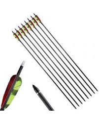 Fletched <b>Mixed Carbon</b> Arrows - Huntingdoor <b>Archery</b>