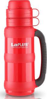 <b>Термос LaPlaya Traditional</b> Glass, цвет: красный, 1,8 л — купить в ...
