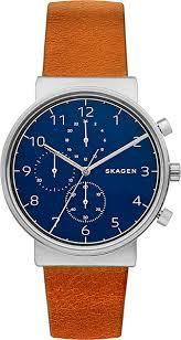 Купить <b>Мужские часы Skagen</b> Leather <b>SKW6358</b> | Наручные часы ...