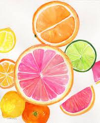 Lemon And Lime Kitchen Decor Orange Lemon Lime Etsy