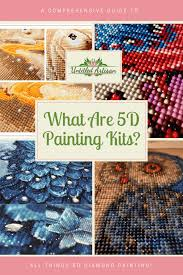 What Are <b>5D Diamond Painting</b> Kits? - A Comprehensive Guide To ...