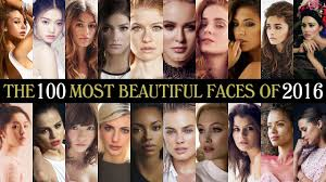 The 100 Most Beautiful Faces of 2016 - YouTube