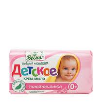 Крем-<b>мыло</b> Весна <b>детское питательное</b> 90 г купить с доставкой ...