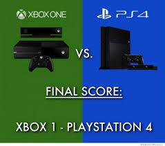 Xbox One Vs PS4 Final Score   WeKnowMemes via Relatably.com