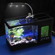 usb desktop aquarium office desk aquarium