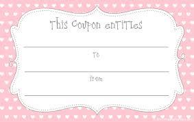 best photos of blank voucher template printable blank coupons love coupon templates printable
