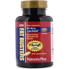 <b>Жиросжигатель</b> (<b>Ultra Fat Busters</b>) 60 таблеток Natures Plus ...