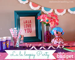 Lalaloopsy Bedroom Decor Lalaloopsy Birthday Party Ideas On A Budget My Sisters
