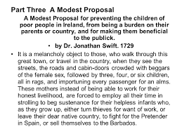 modest proposal essay ideas a modest proposal  essays pdf   essay topics part three a modest proposal for preventing